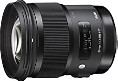 50mm focal length 75mm equivalent focal length on APS-C cameras, 80mm equivalent focal length on Canon APS-C cameras F1.4 maximum aperture; F16 minimum Ring-type ultrasonic-type AF motor with full-time manual focusing 77mm filters.Angle of View (35mm...