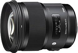 Sigma 50mm F1,4 DG HSM Art Objektiv (77mm Filtergewinde) für Canon Objektivbajonett