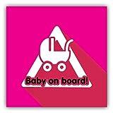 postwalldecor Pegatinas de bebé para coches