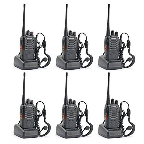 BAOFENG BF-888S Two Way Radio (Pack of 6pcs radios) - Customize Package. Buy it now for 58.99