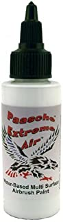 Aerógrafo Paasche Extreme Air Multi Surface Paint, 2-Ounce, Color Blanco Opaco