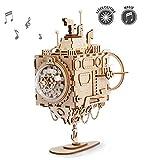 ROKR Modèle Kits de boîte à Musique en Bois | Puzzle 3D à Monter Soi-Même | Modèle mécanique Jouets | Top présent pour Les Enfants d'anniversaire de Pâques (Submarine)