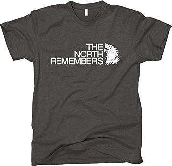 The North Remembers GoT Shirt Medium Dark Heather