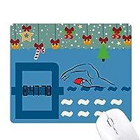 チャイナスポーツスイム ゲーム用スライドゴムのマウスパッドクリスマス