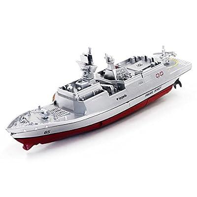 Dingji Remote Control Challenger Aircraft Carrier RC Boat Warship Battleship Ship