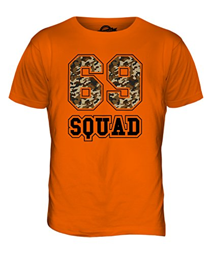 Candymix - Camiseta para hombre con diseño de camuflaje de 69 Squad