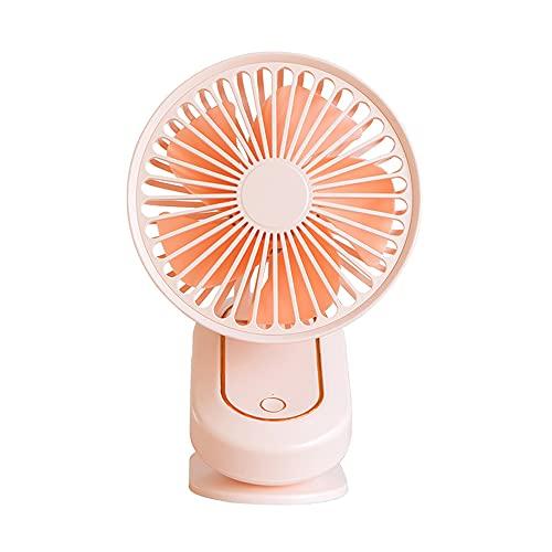 kjhgkj Ventilador De Aire Acondicionado Portátil, Velocidad Suave del Viento para Evitar Resfriados, Adecuado para El Dormitorio De La Oficina En El Hogar, Rosa