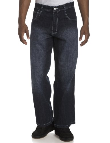 Southpole Men's Relaxed-Fit Core Jean,Dark Sand Blue,42x32