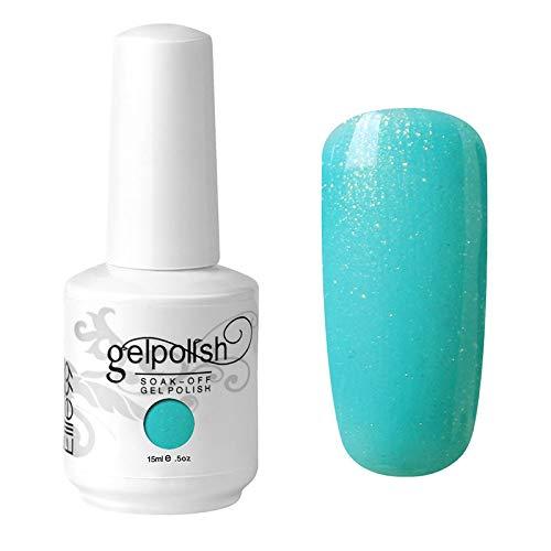 Color Art Vernis à ongles gel Soak Off UV LED Manucure 1055 Vert menthe