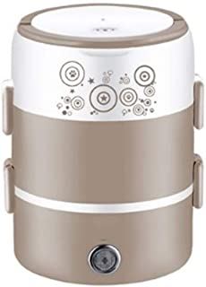 JJZXT Céramique ménagers Multifonctions Rice Cooker Double Isolation Gamelle Portable