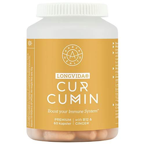 BIO Curcuma (800mg) con Jengibre (50mg) y Vitamina b12 (1000mg)