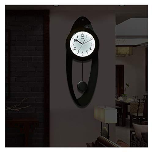 A-GHM &Los Relojes de Pared Reloj De Pared, Sala De Estar Dormitorio Oficina Reloj De Decoración De Pared Adornos para La Casa Reloj De Péndulo Reloj De Pared Grande &Decoracion Pared (Color : A)