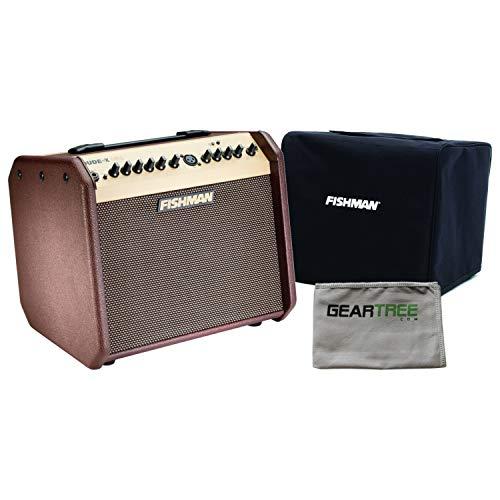 Fishman PRO-LBT-500 Loudbox Mini with Bluetooth Acoustic Guitar Amp w/Slip Cove
