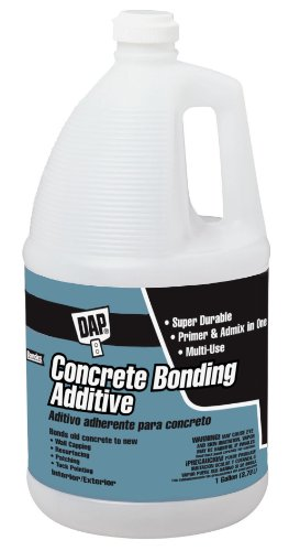 DAP 2132 Concrete Bonding Additive, 1 Gal, Bottle, Liquid, Gallon, White
