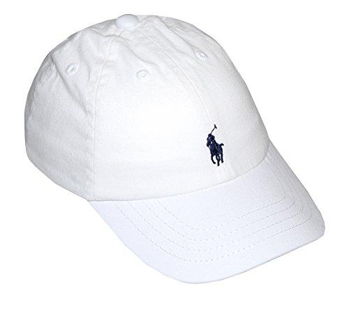 Ralph Lauren Polo Infant Boys Hat Ball Cap (One size , White)