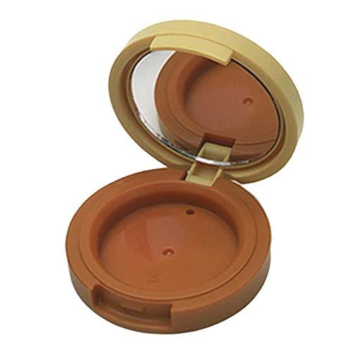 Hellery 1.5g Ronde Magnétique Pot Contenant en Plastique Vides Boîte Cosmétiquqe Maquillage Stockage Containers Jars pr Fard à Paupières Poudre Crèmes - 1 couche