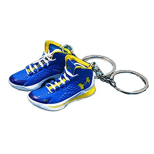 ANCHANG Zapatos lindos Bolsa de joyería Colgante Coche Motocicleta Llavero A&J Zapatos deportivos Modelo Llavero Creativo Moda Niños / Niñas Regalo 5cm * 1.8cm * 2cm Estilo-03