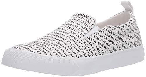 ARMANI EXCHANGE Zapatillas deportivas para hombre Slip On Deportiva Casual Art. XUY003 XV211 Size: 44 EU