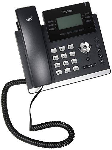 Yealink SIP-T42G IP-Telefon (sehr elegant, mit 12 Leitungen, zertifiziert, generalüberholt)