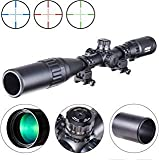 Pinty 4-16X40 Rifle Scope AO Red Green Blue Illuminated Mil...