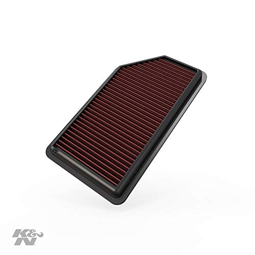 K&N Engine Air Filter: High Performance, Premium, Washable, Replacement Filter: 2011-2019 Kia/Hyundai L4 (Soul, Rio, Rio III, Rio5, Accent, Veloster), 33-2472