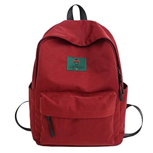 Zaino da studente in nylon impermeabile carino per borse da scuola per donna Zaino da grande capacità per ragazze Borsa per libri per ragazze adolescenti Kawaii