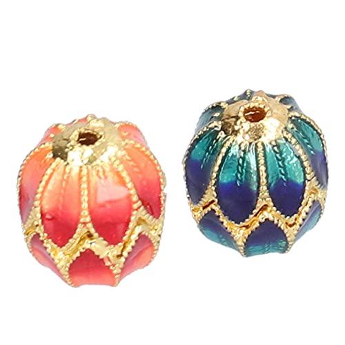 Perlas Espaciadoras Artesanales, Joyería Encantadora Perlas Pulsera Fabricación De Joyas DIY Elegante para Regalo Dulce