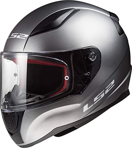 LS2-103531007L/162 : LS2-103531007L/162 : Casco integral RAPID FF353 SOLID COLOR TITANIO TALLA L