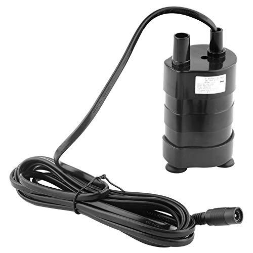Borstelloze Waterpomp, DC 24 V Mini Waterpomp Dompelpomp 1000L/H 7 M Hydraulische Kop voor Computer Waterkoeling Systeem, Solar Fontein