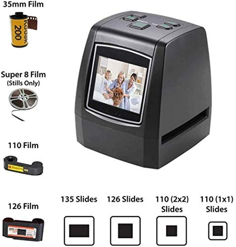 Read About High Resolution Film Slide Scanner converts 35mm 126/110 Film Super8 Film Negative/Slide ...