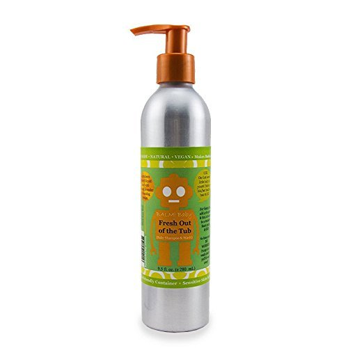 BALM! Baby FRESH OUT OF THE TUB • Natural Organic Baby Shampoo & Body Wash • Toxin-Free - Paraben-Free - Aluminum Container - Made in USA