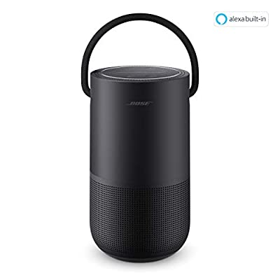 Bose Portable Home Speaker—With Alexa Voice Control Built in, Black by BOSE