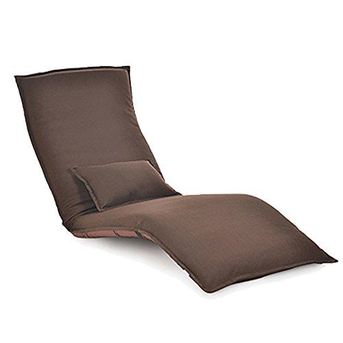 G-Y Canapé Paresseux, Unique Peut Être Canapé Plié, Le Canapé Balcon Chambre À Coucher (lin Coton) (Couleur : Dark coffee color.)