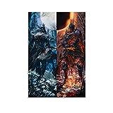 DRAGON VINES Dark Souls 3 Demon Soul of Cinder Poster
