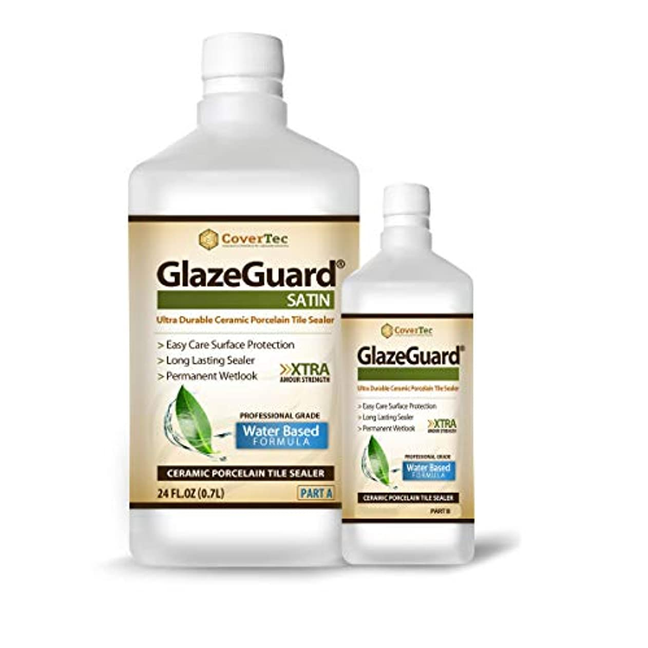OKSLO Glazeguard satin sealer for ceramic, porcelain, stone tile floor/wall surfaces pyqyzysubms21730