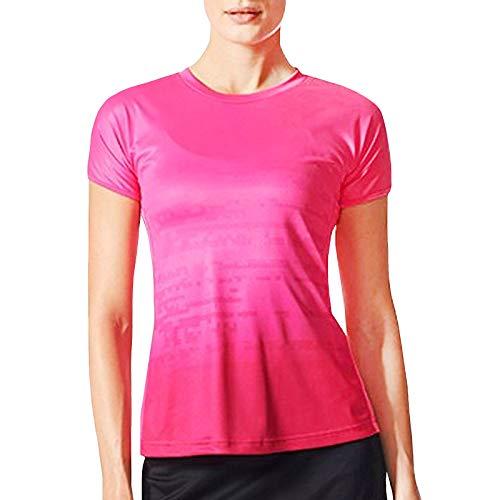 Adidas Performance Climacool Badminton-T-Shirt für Damen, Pink, Größe XS