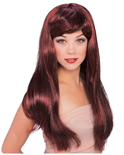 Horror-Shop Glamour Wig Auburn