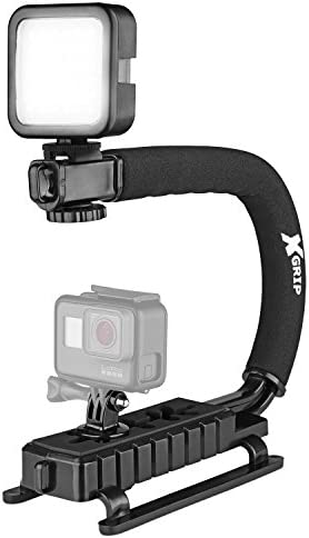 Opteka X Grip VL MOD Professional Stabilizing Handle for GoPro Action Cameras Black product image