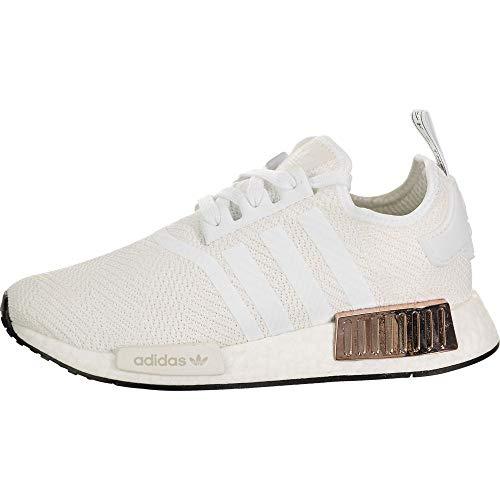 adidas NMD_R1 White/White/Core Black 10