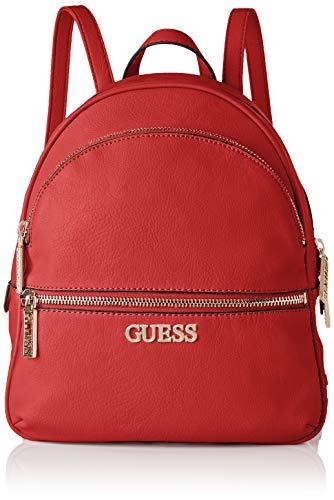 Guess - Manhattan, Mochilas Mujer, Rojo (Lipstick), 12x33,5x28 cm (W x H L)