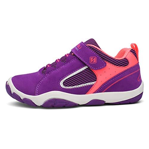 Turnschuhe Kinder Hallenschuhe Jungen Sportschuhe Mädchen Laufschuhe Sneaker Outdoor für Unisex-Kinder 30