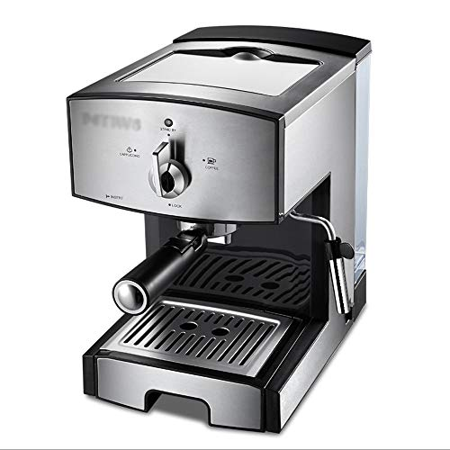 TGhosts Coffee Machine, The Best Choice For Consumer And Commercial Espresso Machine, Drip Coffee And Cappuccino Latte Making Machine, Steam Foaming, Steam Pipe Sleeve, Removable Drip Plate