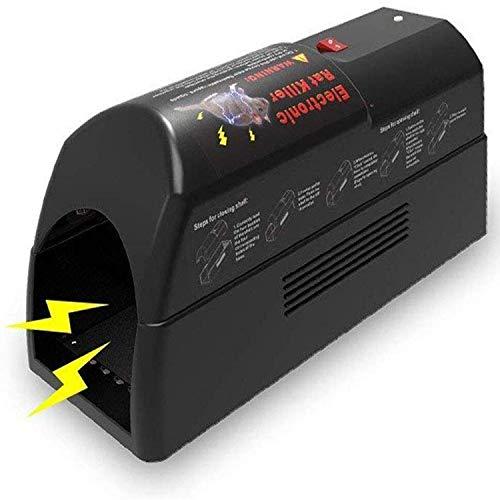 ASPECTEK, HR2814 Trap electrónica para Ratas – Zapper de Trampa para Ratones con Adaptador de CA