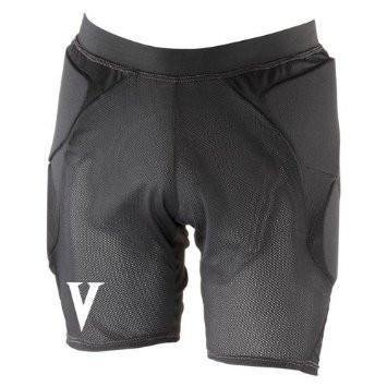 Vigilante Light Padded Shorts with Tailbone and Hip Padding for Snowboarding, Skiing, Skateboarding | Men's Version | Black - Size Medium (30-33in Waist)