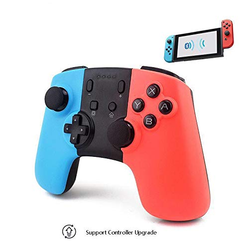 Mando Inalámbrico para Nintendo Switch, Controller Nintendo Switch con Gyro Axis Dual Shock Vibration Mandos Gamepad Joystick para Nintendo Switch#