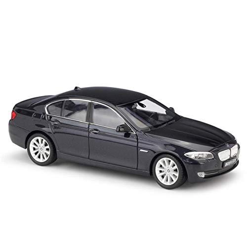 Modelo Simulación de automóviles 1:24 para BMW 535i Aleación Metal Coche con dirección Rotación Modelo de juguete Modelo de automóvil Modelo de juguetes Modelo de juguetes para niños Regalo (Color: Or