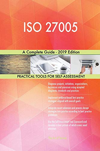 Blokdyk, G: ISO 27005 A Complete Guide - 2019 Edition