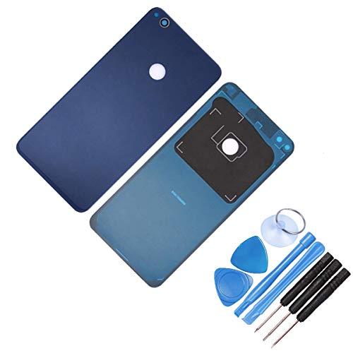 THE TECH DOCTOR - Carcasa Trasera de Cristal de Repuesto para Huawei P8 Lite 2017, Completo con Herramientas, Kit de reparación Profesional