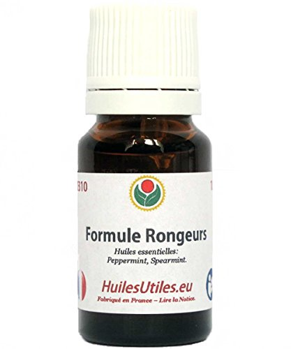 Huiles Utiles - La Formule Rongeurs - 10 ML