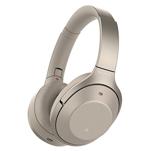 Sony Noise Cancelling Headphones WH1000XM2: Over Ear Wireless Bluetooth Headphones with Case...